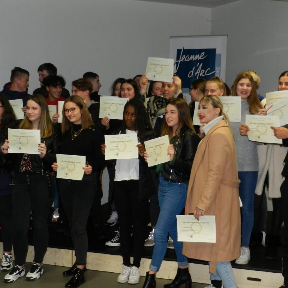 Remise de diplômes décembre 2019